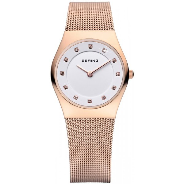 Bering Time Women's Classic Rose-goldtone Watch