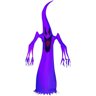 Halloween Airblown Inflatable Purple Haunting Wraith Ghost