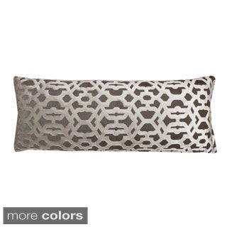 Damon Scroll 14 x 37-inch Throw Pillow