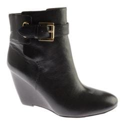 Women's Nine West Zapper Black Leather