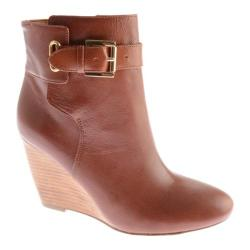 Women's Nine West Zapper Cognac Leather