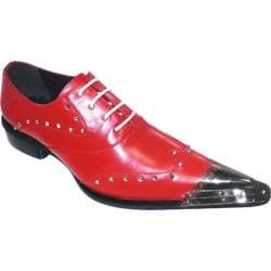 Men's Zota G908-34 Red Leather
