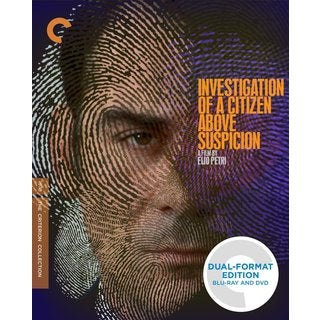 Investigation of a Citizen Above Suspicion (Blu-ray/DVD)
