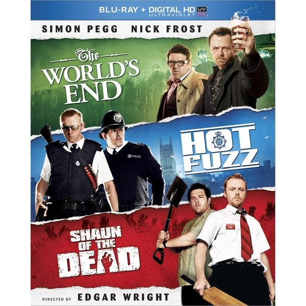 Shaun of the Dead / Hot Fuzz / The World's End (Blu-ray Disc) 11777521