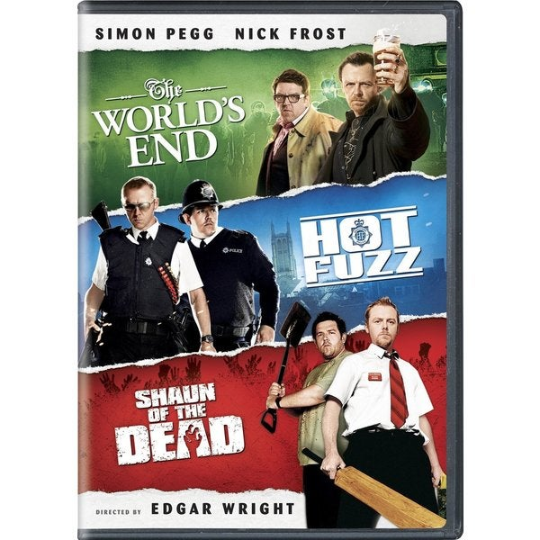 The World's End, Hot Fuzz, Shaun of the Dead Trilogy (DVD) 11777522