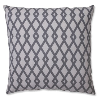 Pillow Perfect Graphic Graystone 18-inch Throw Pillow