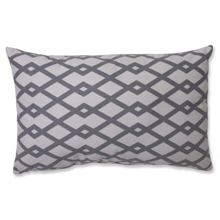 Pillow Perfect Graphic Graystone Rectangular Throw Pillow