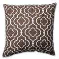 Pillow Perfect Donetta Chocolate 16.5-inch Throw Pillow