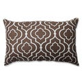 Pillow Perfect Donetta Chocolate Rectangular Throw Pillow