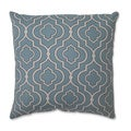 Pillow Perfect Donetta Aqua 16.5-inch Throw Pillow