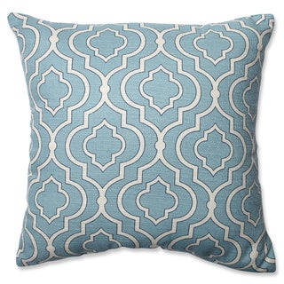 Pillow Perfect Donetta Aqua 16.5-inch Throw Pillow