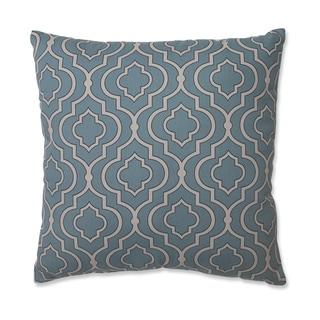Pillow Perfect Donetta Aqua 18-Inch Throw Pillow