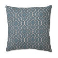 Pillow Perfect Donetta Aqua 18-Inch Throw Pillow