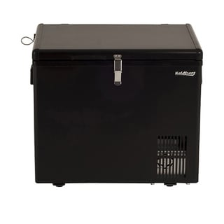 Koldfront 43 Quart 12V DC Portable Fridge Freezer - Black