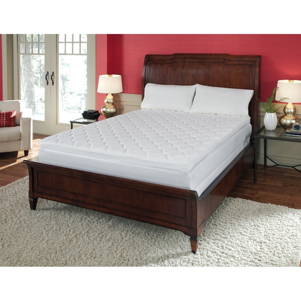 Reversible Pillow Top 12-Inch Queen-Size Memory Foam Mattress