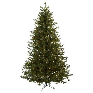 Classic Pine & Pinecone 7.5-foot Christmas Tree