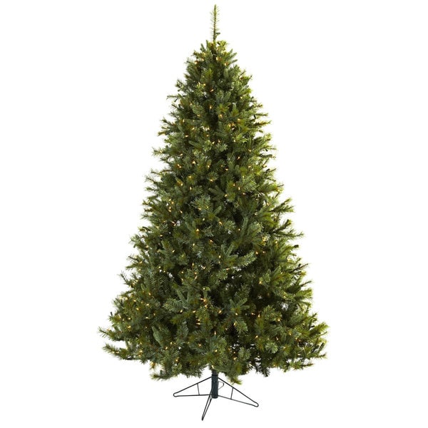 7.5-foot Majestic Multi-pine Christmas Tree with Clear Lights