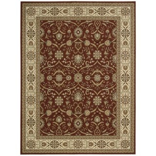 Nourison Persian Crown Brick Rug (9'3 x 12'9)
