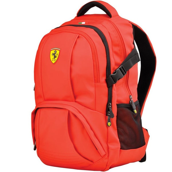 Ferrari Red Travel Backpack