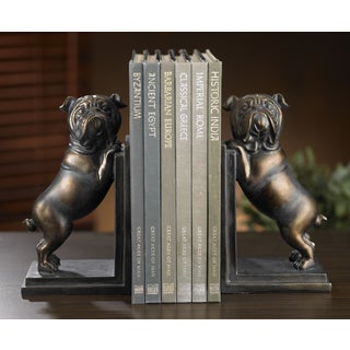 Whimsical Bulldog Bookends