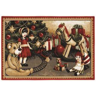 Christmas Toys Holiday Accent Rug (2'7 x 3'10)