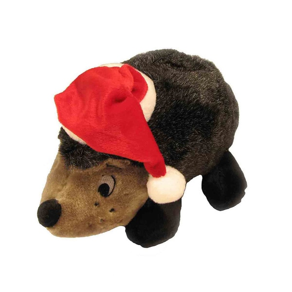 Kyjen Plush Puppies Hedgehog II with Hat Play Toy