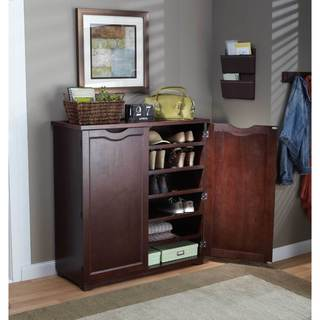Merry Products 6-Tier Wooden Shoe Dresser