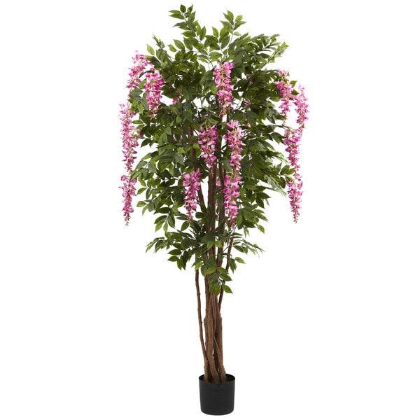 6.5-foot Wisteria Silk Tree