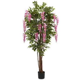 6.5-foot Wisteria Silk Tree
