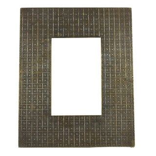 Wooden Brass Cladded Picture Frame (India)