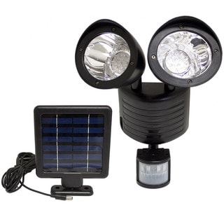 Motion Sensor Security Solar Flood Light LEDs Set of 4