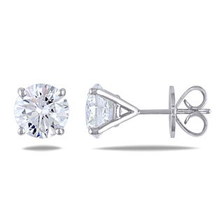 Miadora 18k White Gold 4 3/4ct TDW Diamond Stud Earrings (G-H, SI1-SI2)