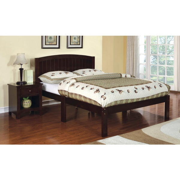 Furniture of america joan wesley contemporary full size for Furniture of america bed reviews