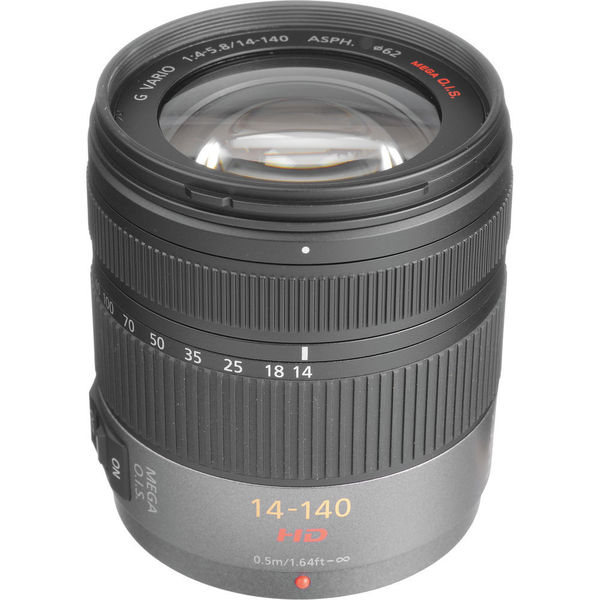 Panasonic Lumix G Vario HD 14-140mm f/4.0-5.8 ASPH. MEGA O.I.S. Lens