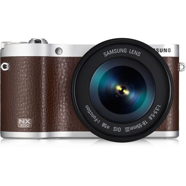 Samsung NX300 20.3MP Mirrorless Digital Camera with 18-55mm f3.5-5.6 OIS Lens