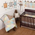 Sumersault 10-piece Doodles Crib Bedding Set