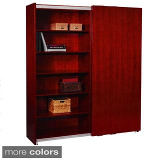 "Mayline Veneer Signature Storage Cabinet (72""x82"")"