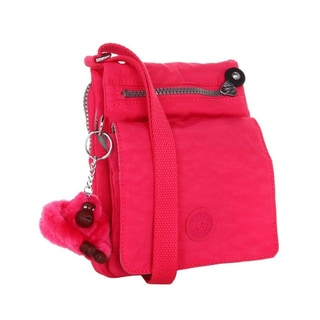 Kipling Eldorado Small Vibrant Pink Crossbody Bag