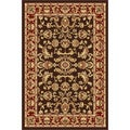 Centennial Brown Traditional Area Rug (2' x 3')