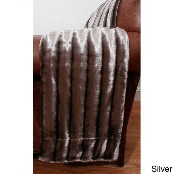 Glamour Faux Fur 50 x 60-inch Throw