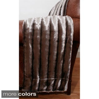 Glamour Faux Fur 50 x 60-inch Throw