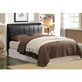 Furniture of America Rossi Tufted Adjustable Espresso Headboard