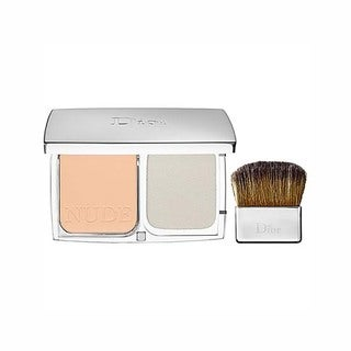 Dior Diorskin Nude Compact Powder Light Beige Makeup with SPF 10