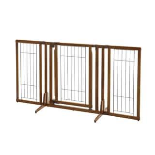 Richell Premium Plus Freestanding 2'8 x 2'10-5'3 Pet Gate