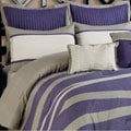 Freda 8-piece Purple/Grey Comforter Set