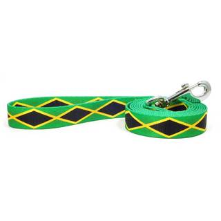 PatriaPet Jamaican Flag Dog Leash