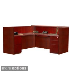 Mayline Luminary 5-drawer Reception Station