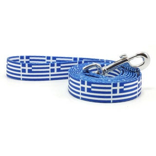 PatriaPet Greek Flag Dog Leash