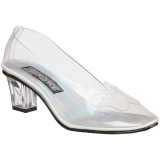 Funtasma Women's 'Crystal-103' Clear Lucite Low Pumps