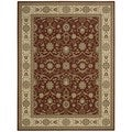 Persian Crown Brick Area Rug (5'3 x 7'4)